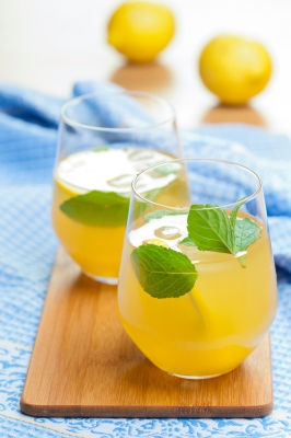 Jus de citron pour mincir